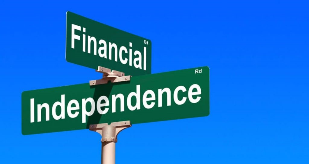 Financial Independence cross street